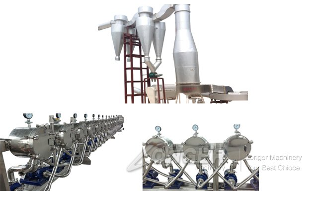 industrial starch processing plant china