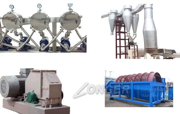 Corn Starch Processing Line Ind